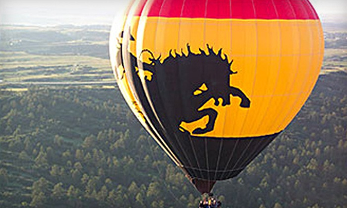 Adventures Out West - Tatum Ranch: $99 for a Sunrise Hot-Air Balloon Flight from Adventures Out West in Scottsdale (Up to $185 Value)