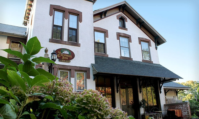 Cornwall Inn - Manaheim: Two-Night Stay with Buggy Ride and Snack Platter at Cornwall Inn in Southeast Pennsylvania. Two Options Available.
