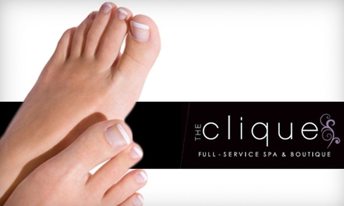 The Clique - Lindon: $19 for a Spa Pedicure at The Clique in Lindon