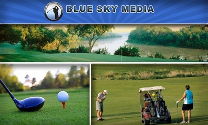 Blue Sky Golf Pass - Dallas: $40 for Two Blue Sky Golf Passes ($198 Value)