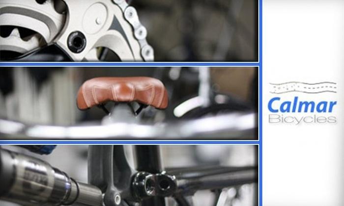 Calmar Bicycles - Santa Clara: $45 Standard Bike Tune-Up at Calmar Bicycles ($85 Value)