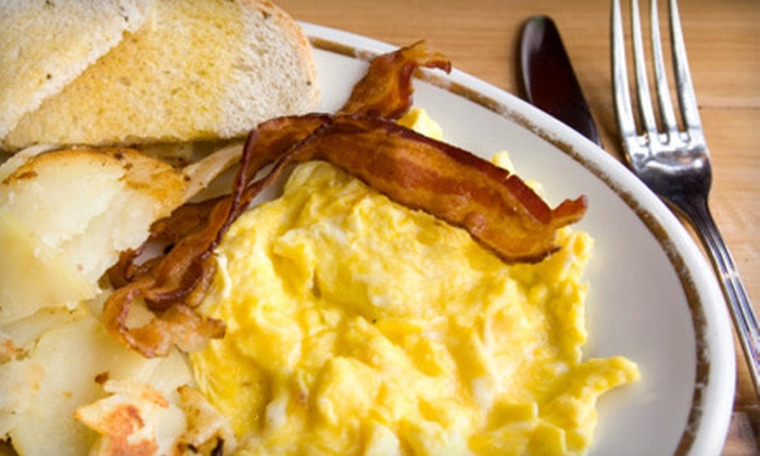 The Farmer's Diner - Deweys Mills: Locally Sourced Breakfast and Lunch Fare at The Farmer's Diner in Quechee, VT (Up to 52% Off). Two Options Available.