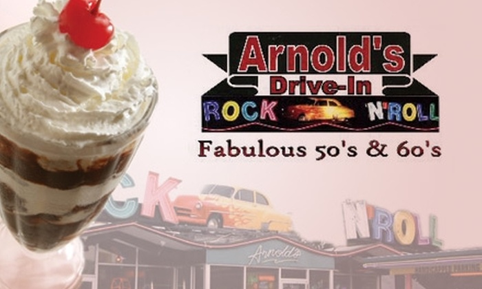 Arnold's Drive-In - Decatur: $5 for $10 Worth of Meals on Wheels at Arnold's Drive-In