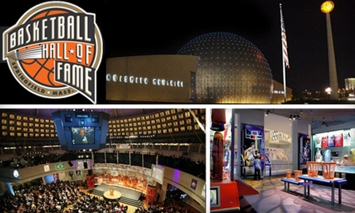 Naismith Memorial Basketball Hall of Fame - South End: $17 for Two Tickets to the Naismith Memorial Basketball Hall of Fame in Springfield (Up to $34 Value)