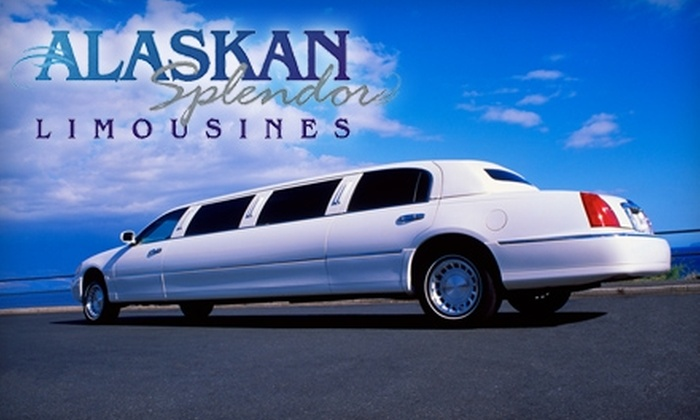 Alaskan Splendor Limousines - Anchorage: $54 for a One-Hour Limousine Ride from Alaskan Splendor Limousines (Up to $108 Value)