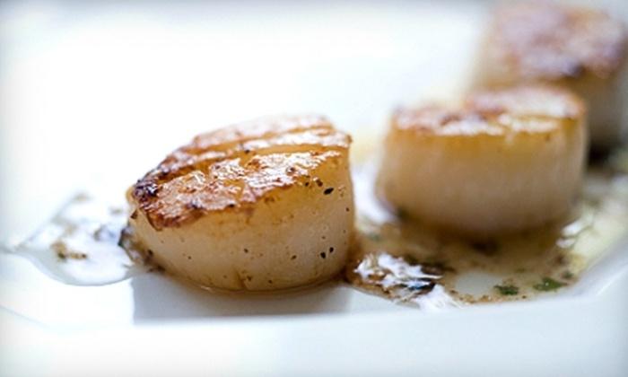Tiburon Fine Dining - Salt Lake City: $25 for $50 Worth of American Fare at Tiburon Fine Dining in Sandy