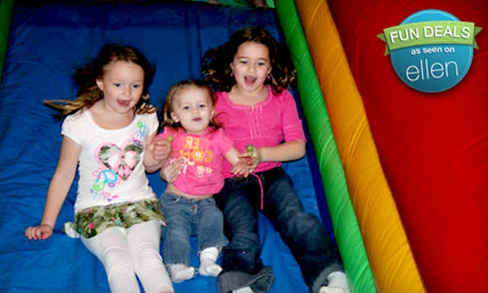 Bremen Bounce and Concord Bounce - Multiple Locations: Kids-Bounce Outing for Two or Four or Five Bounce Admissions to Bremen Bounce and Concord Bounce (50% Off)