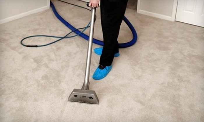 Dallas Family Carpet Cleaning - McShann Estates: Carpet Cleaning for Three, Four, or Five Rooms and a Hallway from Dallas Family Carpet Cleaning (Up to 59% Off)