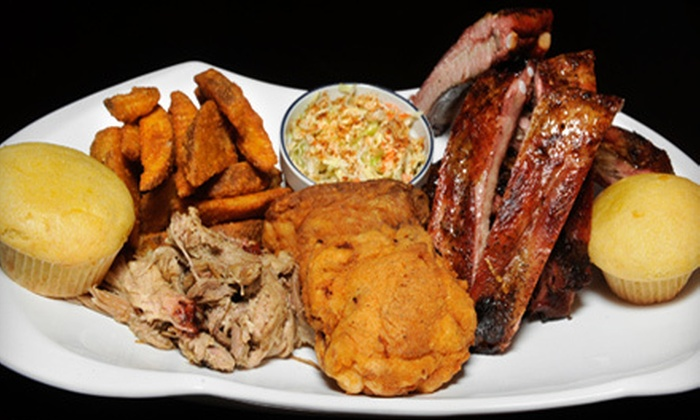 Smoke-N-Bones - White Oaks: Barbecue Meal for Two or $12 for $25 Worth of Barbecue Fare for Lunch at Smoke-N-Bones