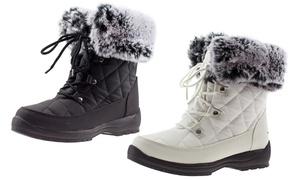 ArcticShield Women's Waterproof Insulated Winter Snow Boots