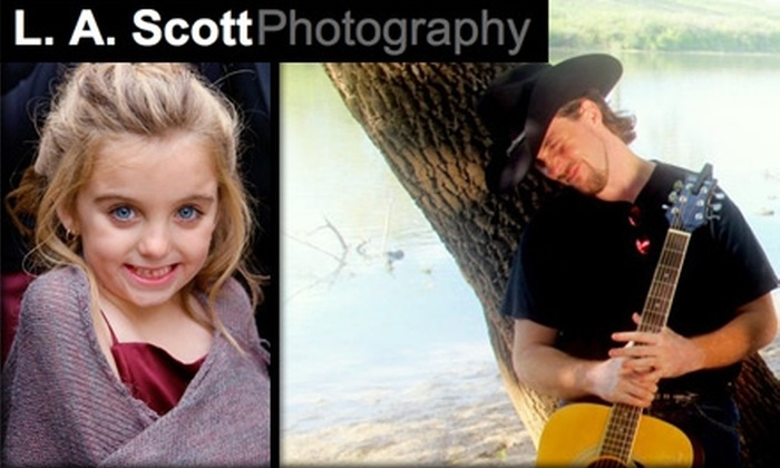 L. A. Scott Photography - Cardinal Hills: $49 for Two-Hour Photography Session with Photo CD from L.A. Scott Photography