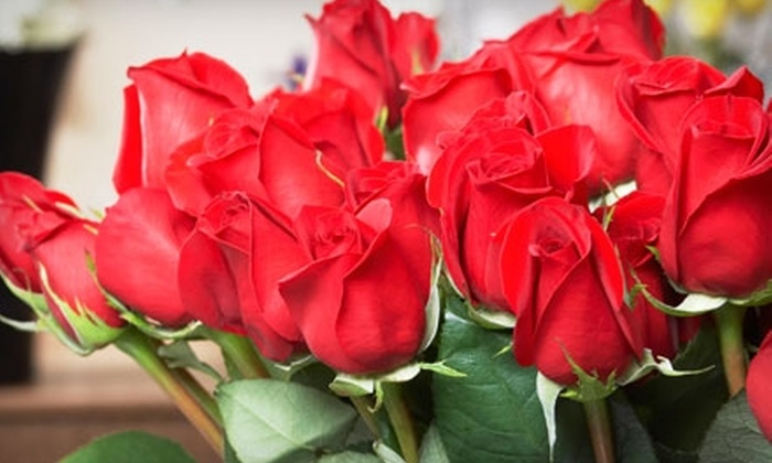 Cleveland Florist - Multiple Locations: $30 for a True Romance Bouquet with One Dozen Long-Stem Roses at Cleveland Florist ($59.95 Value)