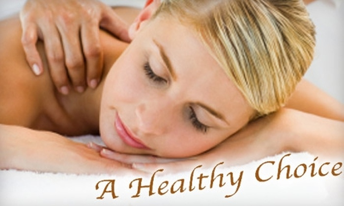 A Healthy Choice - Lincoln: $30 for a One-Hour Massage and 15-Minute Whirl Pool or Moist Heat Pack at A Healthy Choice ($65 value)