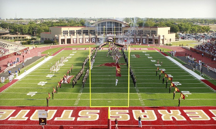 Texas State University Bobcats - San Marcos: One Upper-Level Ticket to Texas State University Bobcats Football Game in San Marcos. Three Games Available.