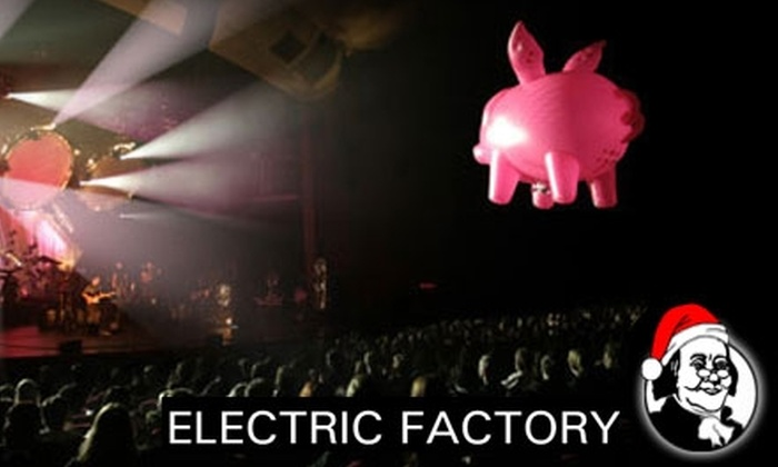 Electric Factory - North Philadelphia East: $20 for One Ticket to the Pink Floyd Experience at the Electric Factory on Feb. 22 Plus a T-Shirt ($46 Value)
