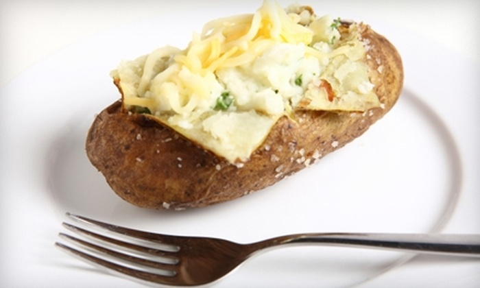 Potato Factory - Amarillo: $6 for Two Combo Meals at Potato Factory (Up to $13.98 Value)
