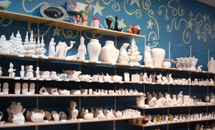$30 Groupon to All Fired Up for Paint-Your-Own Pottery - All Fired Up in Anchorage