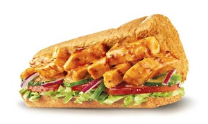 Foodway Subway: Six-Inch Subway Sandwich with Drink plus Chips Or Cookie Valid at four Restaurants (Up to 38% Off)