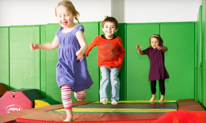 Kidville - Multiple Locations: $49 for a Play Package with Three Classes and Three Play Passes at Kidville (Up to $170 Value). Two Locations Available.
