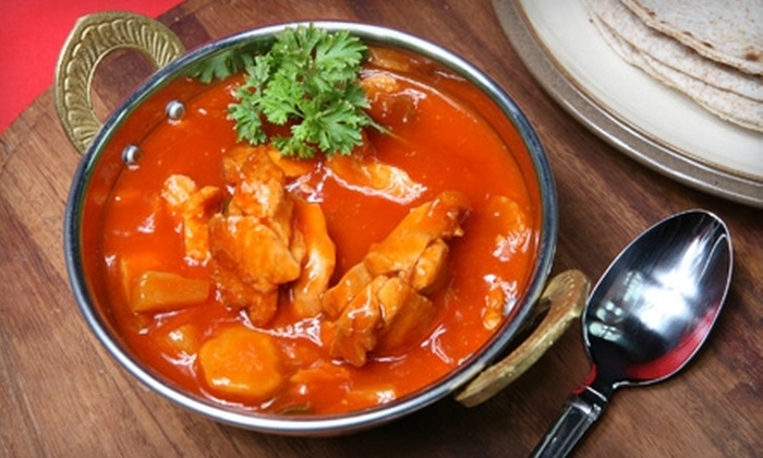 India Pavilion - Riverside: $15 for $30 Worth of Indian Cuisine at India Pavilion in Cambridge