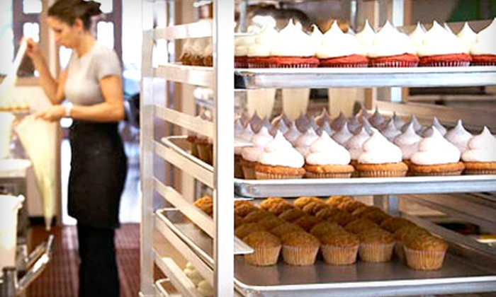 The Cupcake Shoppe - Raleigh: $16 for One Dozen Cupcakes at The Cupcake Shoppe ($33 Value)