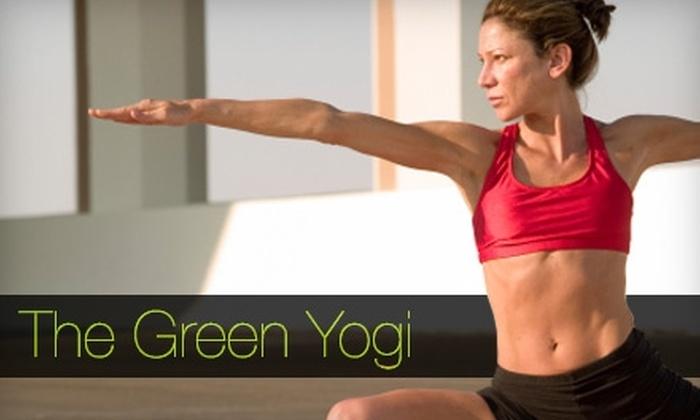 The Green Yogi - Manhattan Beach: $20 for Five Yoga Classes at The Green Yogi in Manhattan Beach ($75 Value)