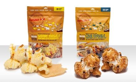 Masala Pop Indian-Spiced Popcorn | Groupon Goods
