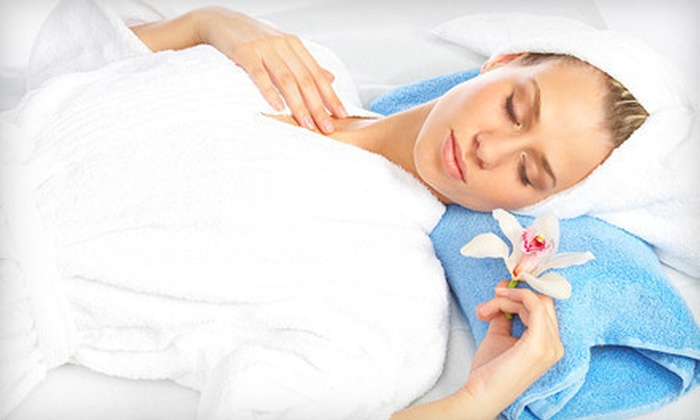 Aqua Aesthetic Studio - Castleton: Lavender-Eucalyptus Facial or Massage at Aqua Aesthetic Studio (51% Off)