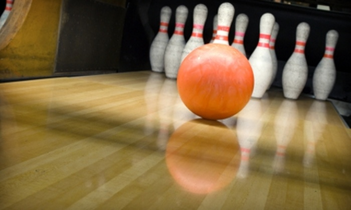 Suburban Bowlerama - Tyler Run-Queens Gate: $19 for Bowling Package for Up to Six People at Suburban Bowlerama in York (Up to $39.95 Value)
