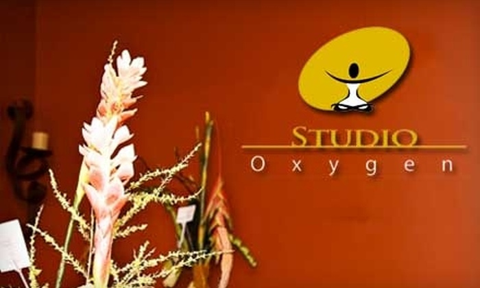 Studio Oxygen - Canfield: $20 for Five Yoga Classes at Studio Oxygen