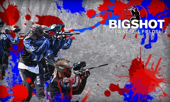 Bigshot Paintball Fields - Miami: $25 Paintball Outing at Bigshot Paintball Fields ($51 Value)