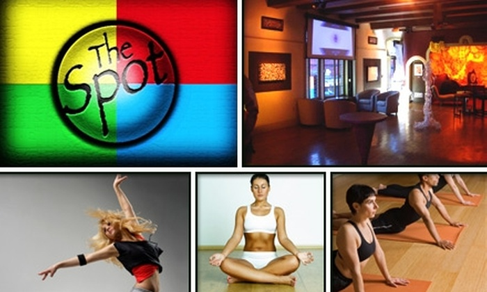 The Spot on Thayer - Providence: $30 for Five Dance or Yoga Classes at The Spot ($60 Value)