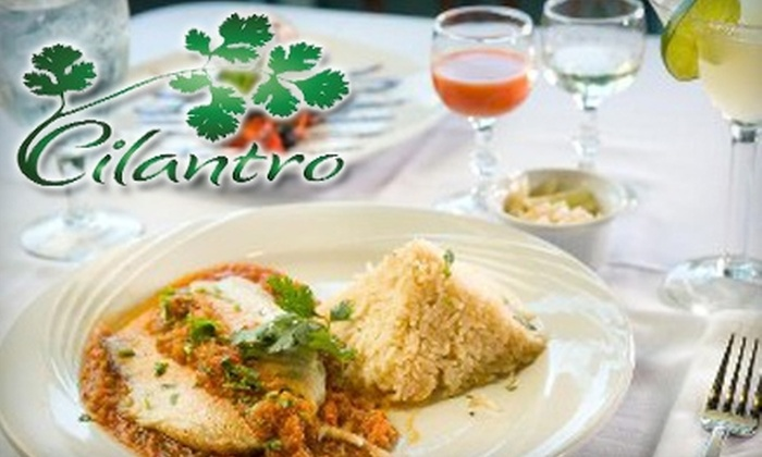 Cilantro Bar and Grill - Madison: $15 for $30 Worth of Mexican Cuisine at Cilantro Bar and Grill