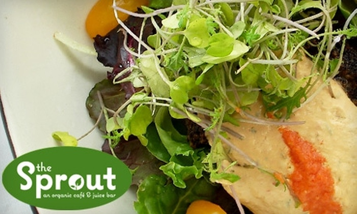 The Sprout - Mount Pleasant: $6 for $12 Worth of Vegan Fare at The Sprout in Mount Pleasant