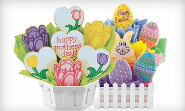 Cookies by Design - Central Beaverton: $28 for a Holiday Cookie Gift Bouquet at Cookies by Design ($56 Value). Two Choices Available.