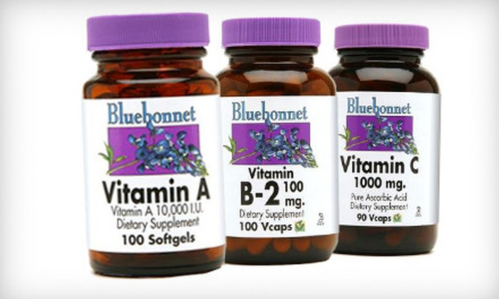 Nutrition Depot - University Place,Belle Court,Medical Center: $20 for $45 Worth of Bluebonnet Vitamins and Supplements at Nutrition Depot