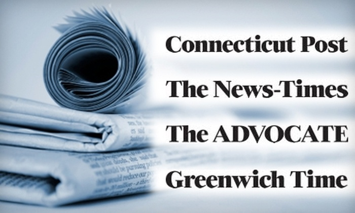 Hearst Connecticut Media Group - Fairfield County: $26 for 26 Issues of a Sunday Edition Newspaper ($65 Value). Choose from Four Local Papers.