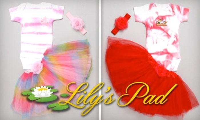 Lily's Pad: $25 for $50 Worth of Hand-Painted Children's Clothing, Accessories, and Tutus from Lily's Pad
