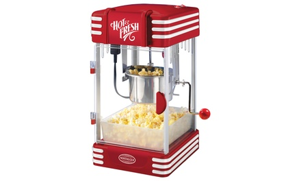 Nostalgia Electrics '50s-Style Kettle Popcorn Popper