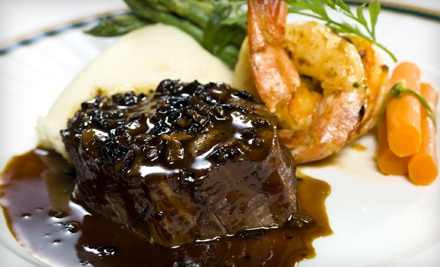$50 Groupon - The Knolls Restaurant and Lounge in Lincoln