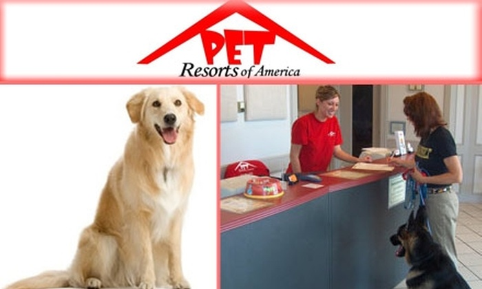 Pet Resorts of America - Whites Bend: $25 for Boarding and Bathing at Pet Resorts of America