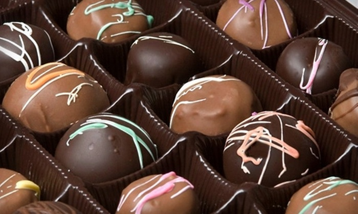 Mike Libs and the Chocolate Factory - Evansville: $7 for $15 Worth of Chocolate, Peanut Brittle, and Other Treats at Mike Libs and the Chocolate Factory