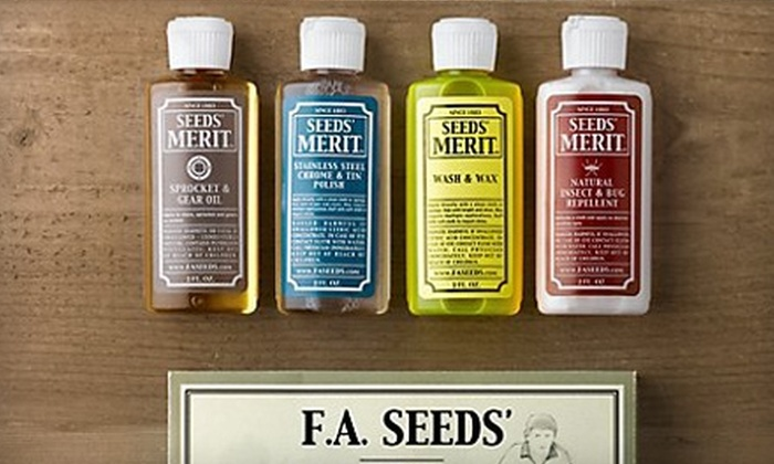 F.A. Seeds' Co.: $19 for Home-Care Kit from F.A. Seeds' Co. (Up to $39.95 Value)