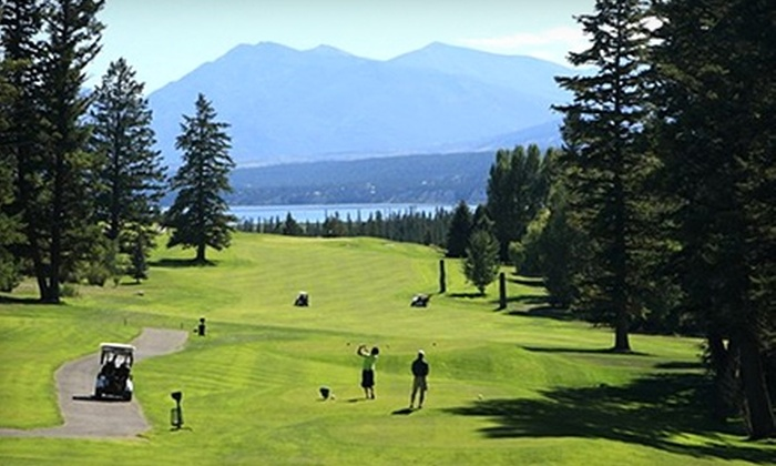 Fairmont Hot Springs Resort - Fairmont Hot Springs: One-Night Stay in a Superior Room, Golf, and Cart Rental at Fairmont Hot Springs Resort. Two Options Available.