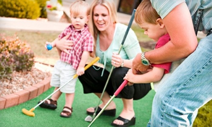 Pirates Cove Miniature Golf - Indianapolis: $13 for Four Rounds of Mini Golf at Pirates' Cove Miniature Golf (Up to $26 Value)