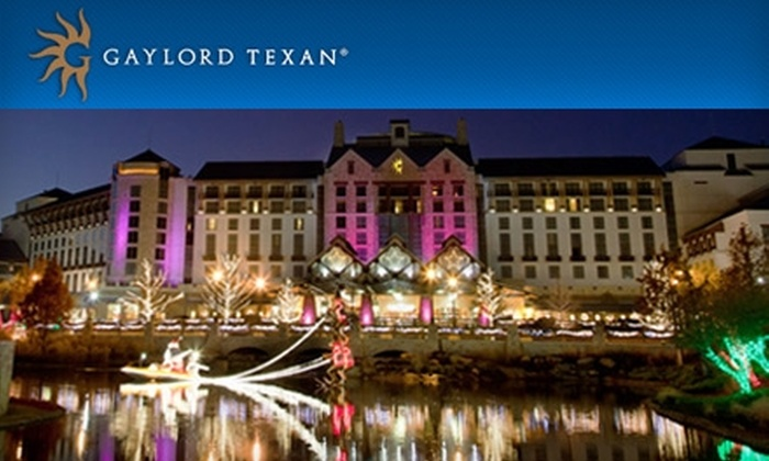219 For A One Night Stay In An Executive Suite At Gaylord Texan Resort