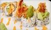 Yotsuba Japanese Restaurant & Bar-Ann Arbor - Multiple Locations: Sushi and Japanese Fare for Dinner or Lunch at Yotsuba Japanese Restaurant & Bar (Half Off)