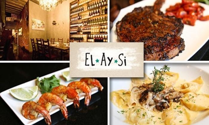 El Ay Si / LIC, LLC - Hunters Point: $10 for $25 Worth of Global Comfort Food at El Ay Si