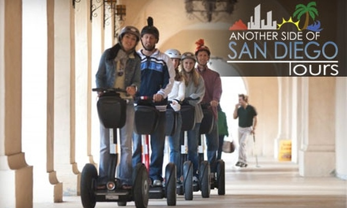 Another Side of San Diego Tours - Horton Plaza: $49 for a Two-Hour Balboa Park Segway Tour from Another Side of San Diego Tours ($149 Value)