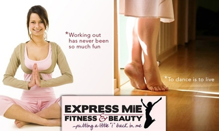 Express MiE - Tempe: $20 for Four Women's Fitness Dance Classes at Express MiE